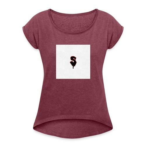 Snow - Women's Roll Cuff T-Shirt