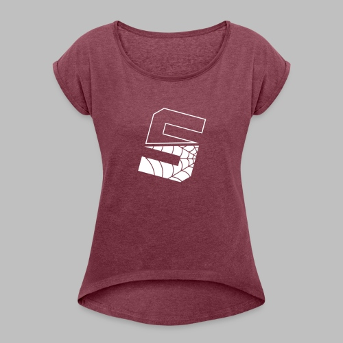 Spideyy - Women's Roll Cuff T-Shirt