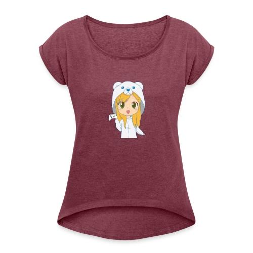 PowluhrBear - Women's Roll Cuff T-Shirt