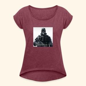 ItsAbe2Smooth - Women's Roll Cuff T-Shirt