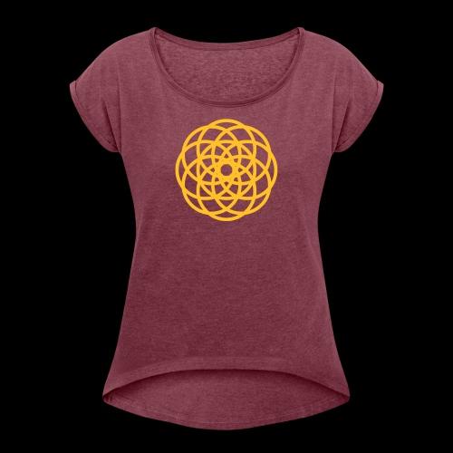 TV Polychroma - Women's Roll Cuff T-Shirt