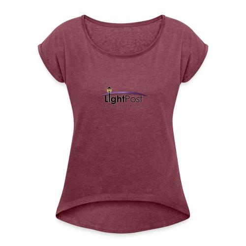 Light Post Ministry Wear - Women's Roll Cuff T-Shirt