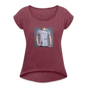 2015 The latest Design Brand New Summer M 3XL mens - Women's Roll Cuff T-Shirt