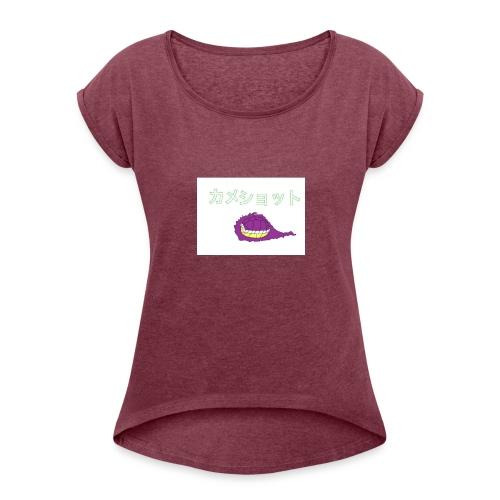 Capture - Women's Roll Cuff T-Shirt