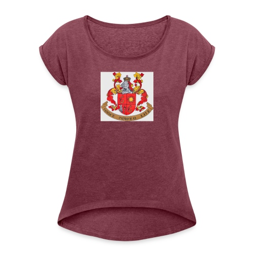 Force Power Life by Schauffert - Women's Roll Cuff T-Shirt