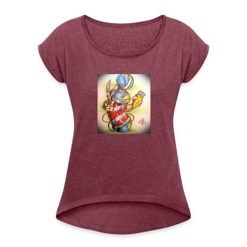 IMG 20170705 074216 - Women's Roll Cuff T-Shirt