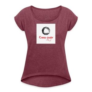 Emmas Merch - Women's Roll Cuff T-Shirt
