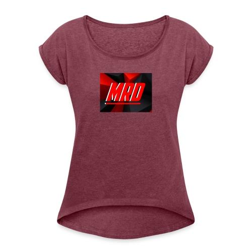 MrDestructo Merch - Women's Roll Cuff T-Shirt