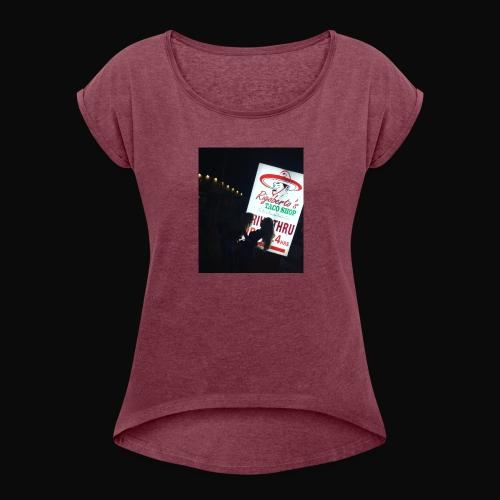 Rigos Tawcs - Women's Roll Cuff T-Shirt