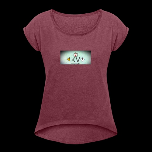 New merch - Women's Roll Cuff T-Shirt