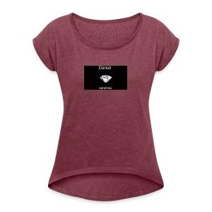 daniel merch - Women's Roll Cuff T-Shirt