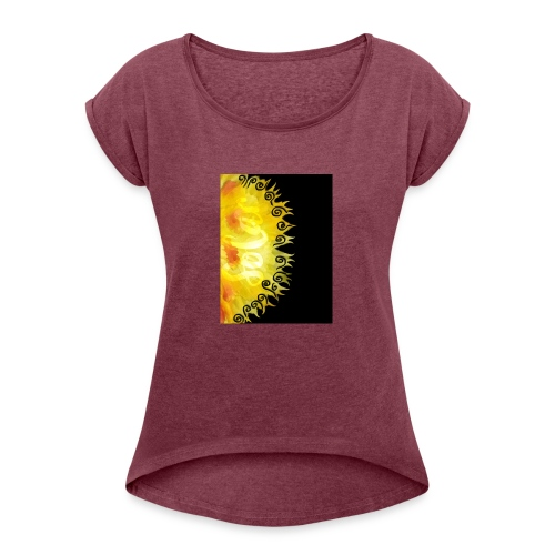 Solar - Women's Roll Cuff T-Shirt