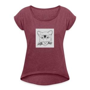 Lioness - Women's Roll Cuff T-Shirt
