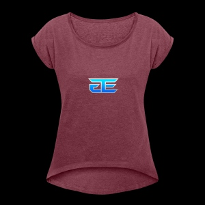 Exact Gaming - Women's Roll Cuff T-Shirt