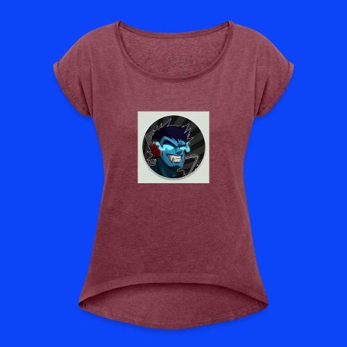 gamer clothes - Women's Roll Cuff T-Shirt