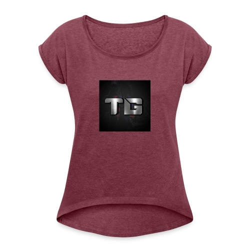 hoodies and spread shirts - Women's Roll Cuff T-Shirt