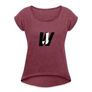 Jack Wide wear - Women's Roll Cuff T-Shirt