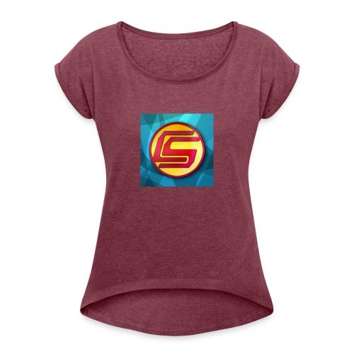 CaptainSparklez Merchandise - Women's Roll Cuff T-Shirt