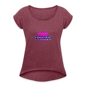 Thot Patrol - Shirt - Women's Roll Cuff T-Shirt