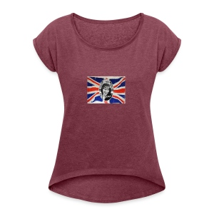 MWO Save the Queen - Women's Roll Cuff T-Shirt