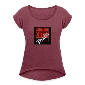 Team ShadyPines - Women's Roll Cuff T-Shirt