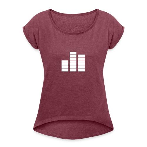 Fouzoradio - T-shirt Femme à manches retournées