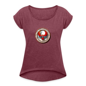 bird - Women's Roll Cuff T-Shirt