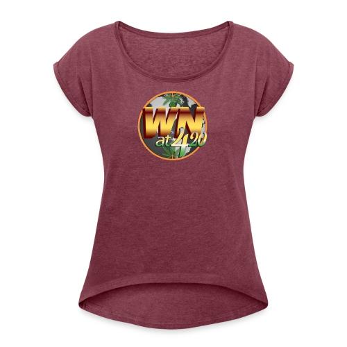 WN420 Power Shield - Women's Roll Cuff T-Shirt