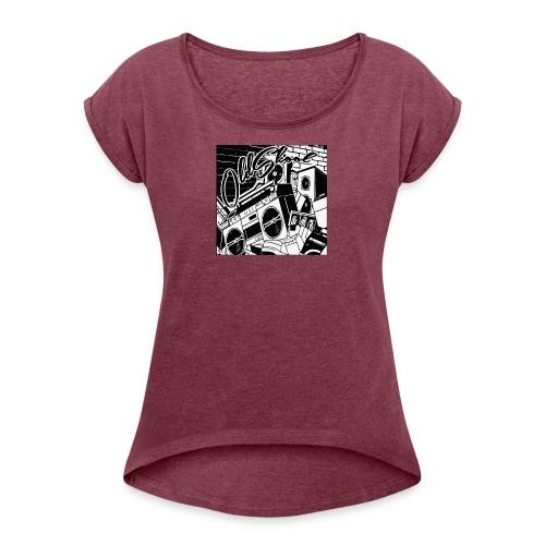 oldskool - Women's Roll Cuff T-Shirt