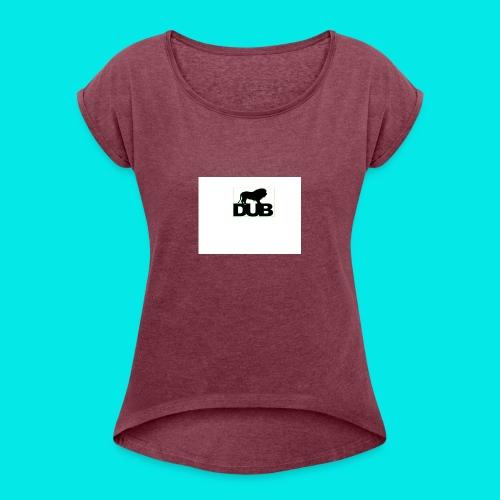 DuB Lion - Women's Roll Cuff T-Shirt