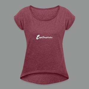 1475922320085 - Women's Roll Cuff T-Shirt
