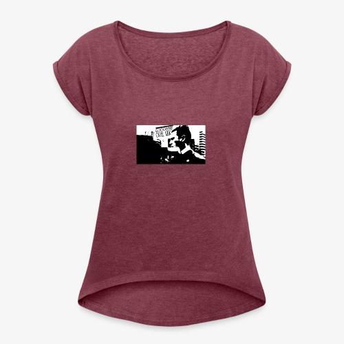 The Punch - Women's Roll Cuff T-Shirt