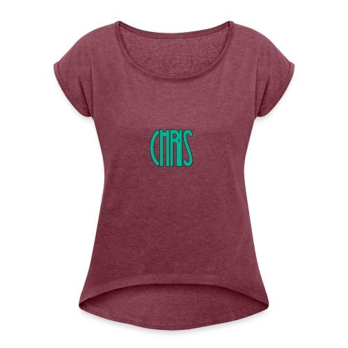 IMG_1557 - Women's Roll Cuff T-Shirt