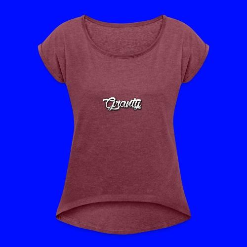 Official Logo of Granty - Women's Roll Cuff T-Shirt