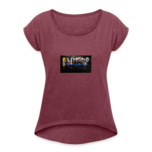 SportGaming Ali - Women's Roll Cuff T-Shirt