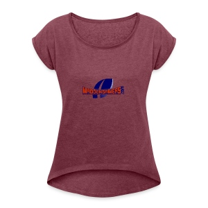 MaddenGamers - Women's Roll Cuff T-Shirt