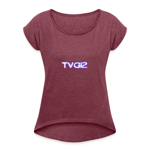 TVG12 - Women's Roll Cuff T-Shirt