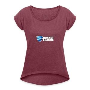-Rocket League hoodie - Women's Roll Cuff T-Shirt