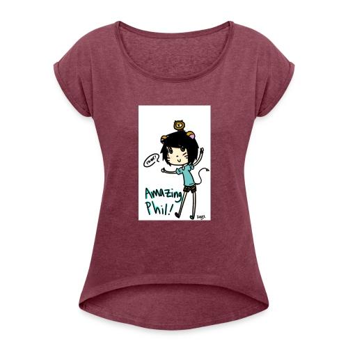 28 - Women's Roll Cuff T-Shirt