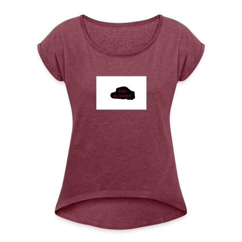 Aven Wilsenach PINK - Women's Roll Cuff T-Shirt