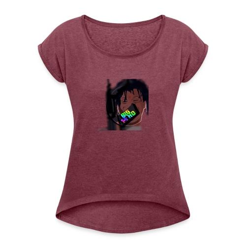 Trippie Redd - Women's Roll Cuff T-Shirt