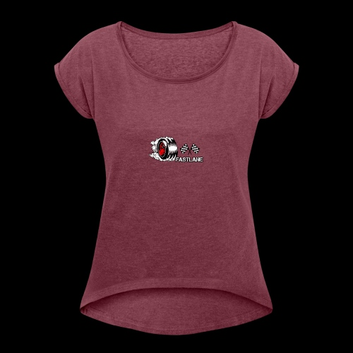 FastLane - Women's Roll Cuff T-Shirt