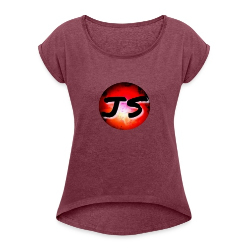 JS Merch - Women's Roll Cuff T-Shirt