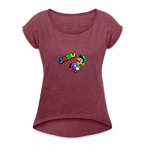TheJabuBros Luigi Sprite Shirt - Women's Roll Cuff T-Shirt