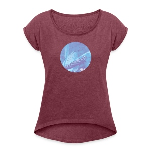Profound Changes Just Ahead - Women's Roll Cuff T-Shirt