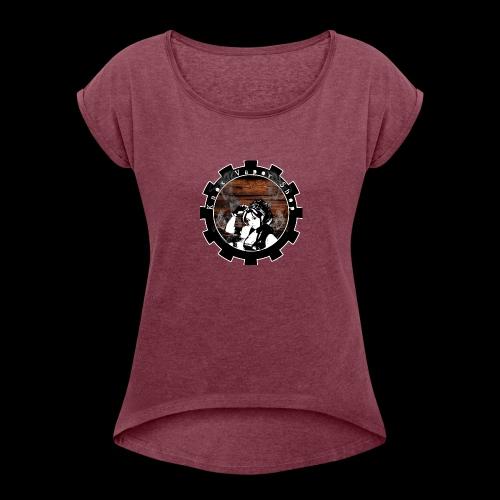 Knox Vapor Shop - Women's Roll Cuff T-Shirt