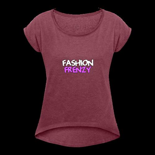 Fashion Frenzy - Women's Roll Cuff T-Shirt