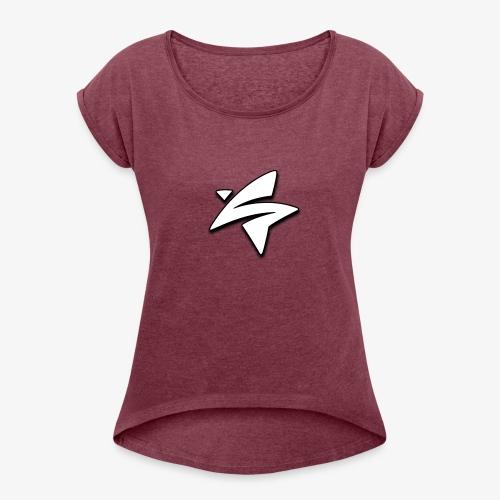 Savant Star - Women's Roll Cuff T-Shirt