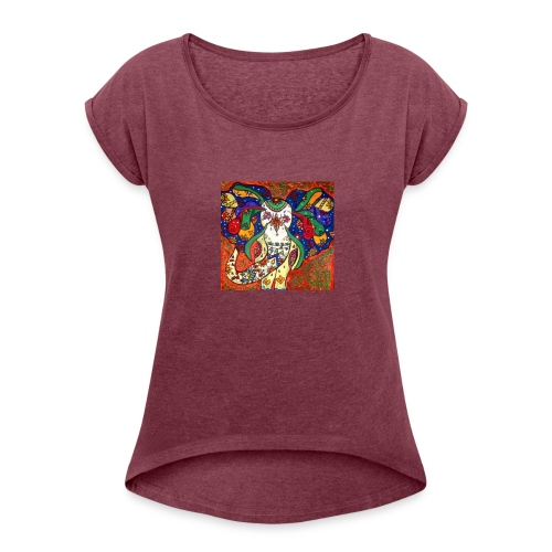 IMG 0659 - Women's Roll Cuff T-Shirt