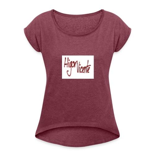 cats00002 - Women's Roll Cuff T-Shirt